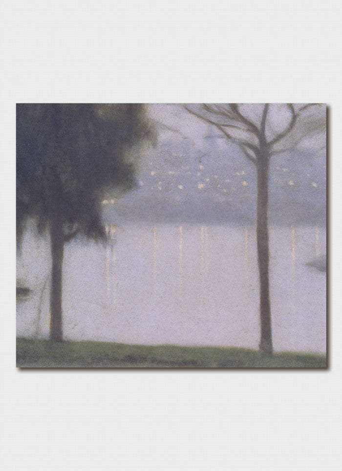 Clarice Beckett - Across the Yarra