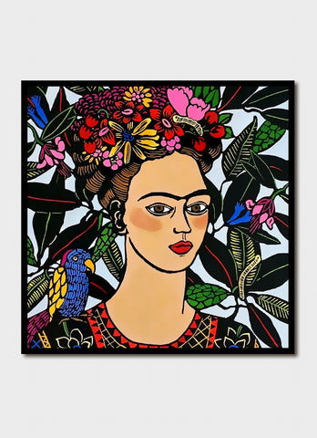 Jude Rose art card - Frida