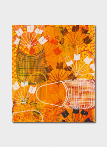 Lisa Michl Ko-manggen art card - Returning Home