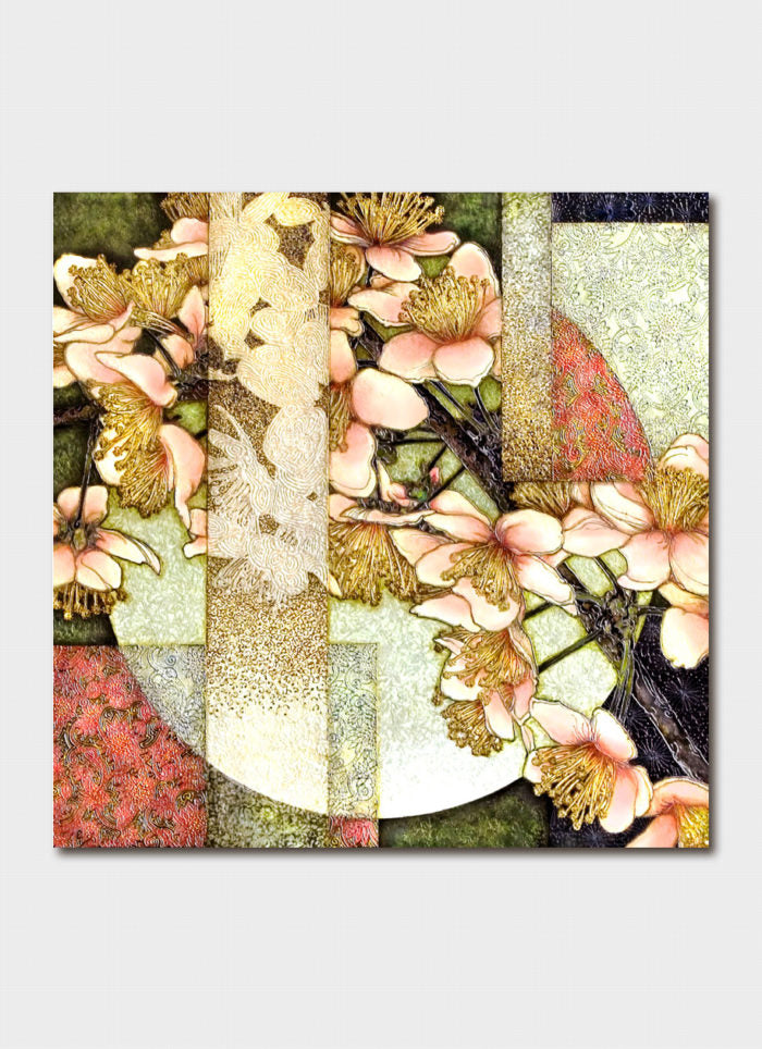 Padma art card - Cherry Blossom Moon