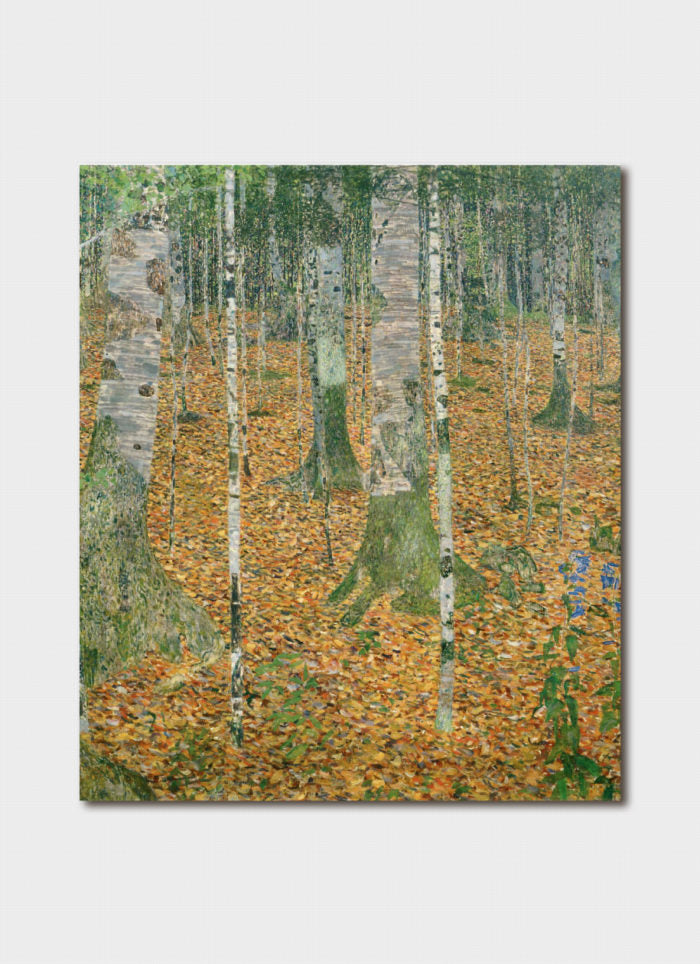 Gustav Klimt - Birch Trees