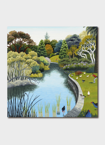 Annie Franklin Art Card - Royal Botanic Garden Summer 36 degrees II