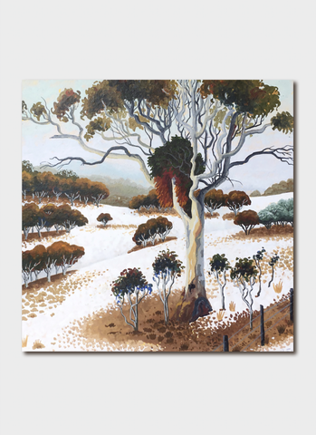 Annie Franklin Art Card - Monaro Snowfall