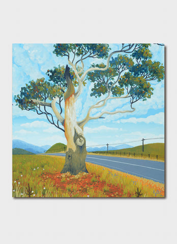 Annie Franklin Art Card - Highway Sentinel