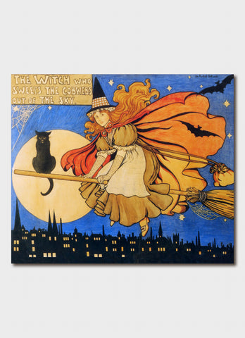 Ida Rentoul Outhwaite art card - Painting for Prince Henry's Hospital