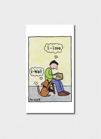 Judy Horacek cartoon card - I Love (New!)