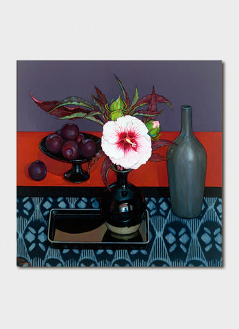 Criss Canning Art Card - Hibiscus