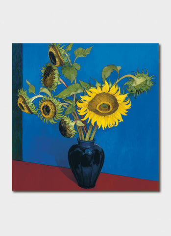 Criss Canning Art Card - Sunflowers