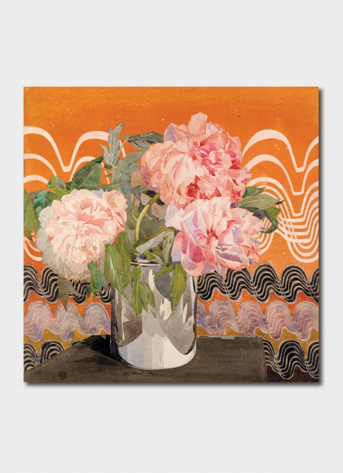 Charles Rennie Mackintosh Art Card - Peonies