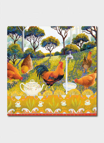 Annie Franklin Art Card - English Breakfast