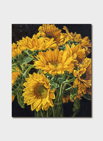 Fiona Craig Art Card - Sunflowers