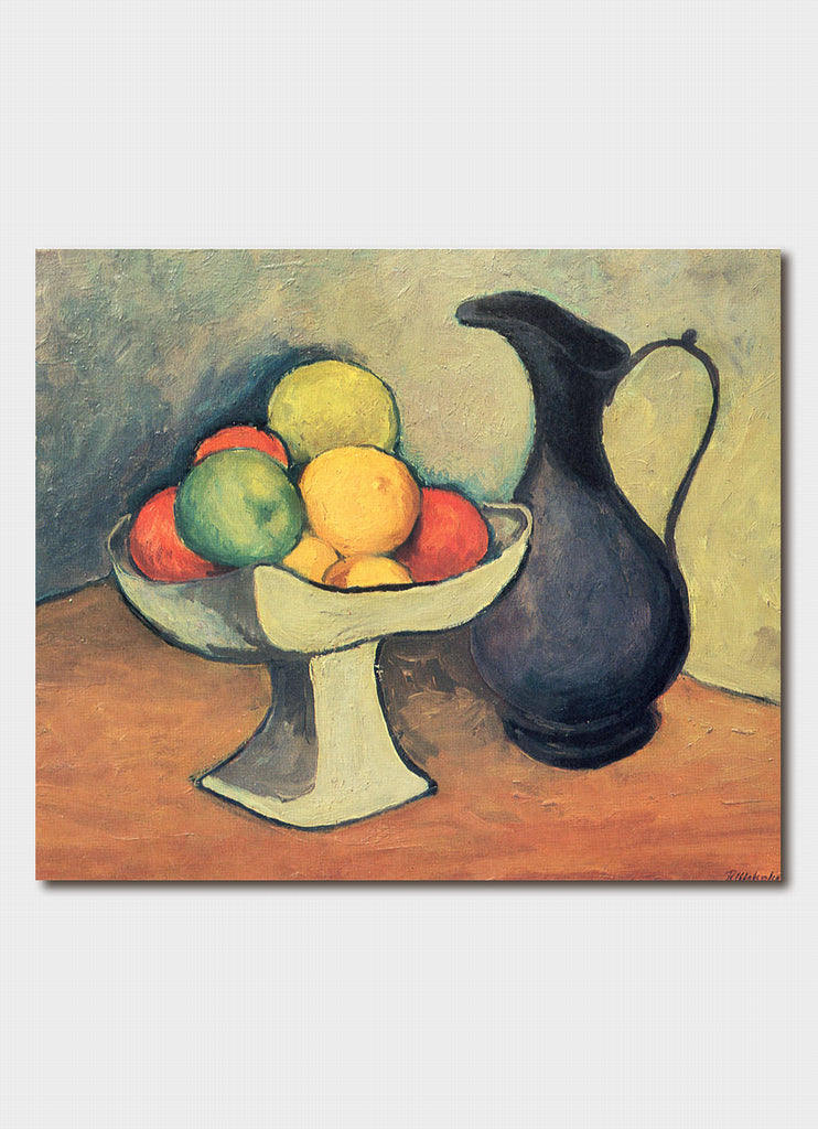 Roland Wakelin art card - Still Life With Pewter Jug