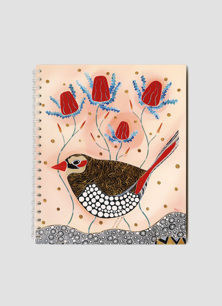 Melanie Hava Small Notebook - Wren