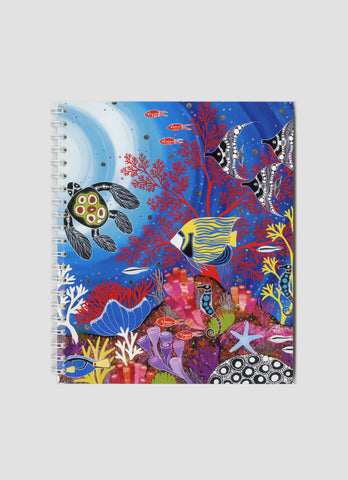 Melanie Hava Small Notebook - Reef Paradise