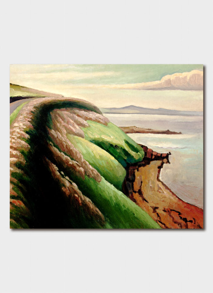 Dorrit Black Art Card - Coast Road