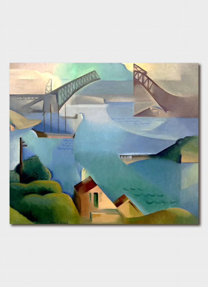 Dorrit Black Art Card - The Bridge
