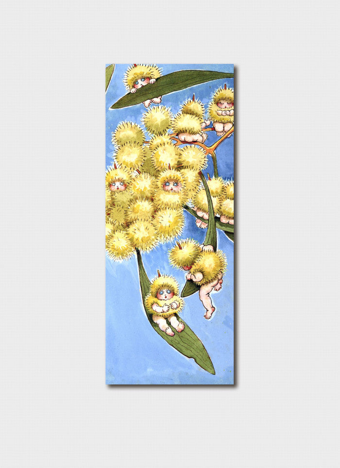 May Gibbs # 2 Bookmark - wattle babies