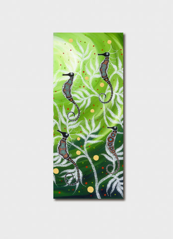 Melanie Hava Bookmark - Under the Seaweed