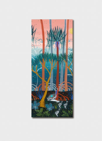 Melanie Hava Bookmark - Cassowaries in the Pandanus Forest