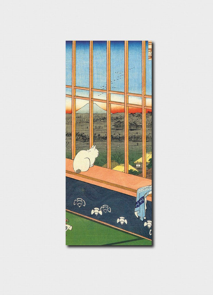 Japanese - Cat and Mt Fuji Bookmark