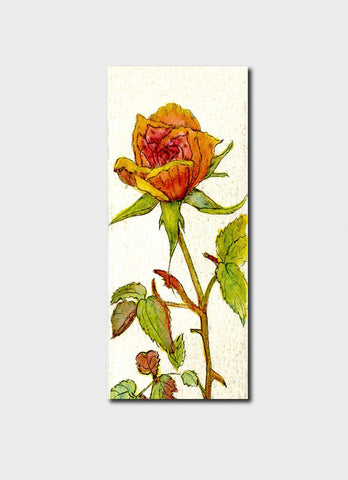 Minky Grant Bookmark - Rose