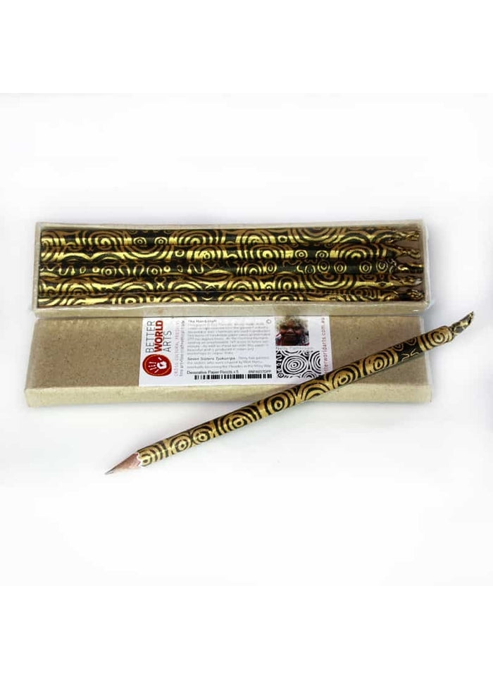 Decorative Paper Pencil Pack - Nelly Patterson