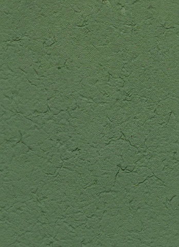 Handmade in Chiang Mai Mulberry Paper - Green (CHM0034)