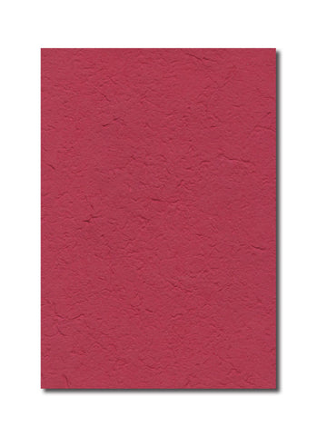 Handmade in Chiang Mai Mulberry Paper - Red (CHM035)