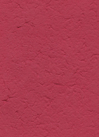 Handmade in Chiang Mai Mulberry Paper - Red (CHM0035)