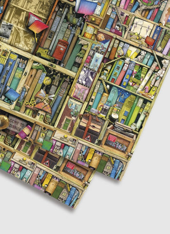 Colin Thompson Wrapping Paper - The Neverending Bookshop