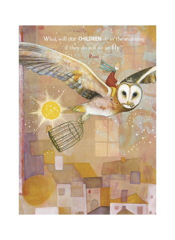 Sacredbee greeting card - Children Do