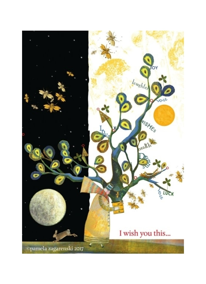 Sacredbee greeting card - Wish