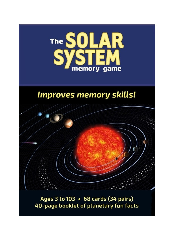 The Solar System Memory Game (pack)