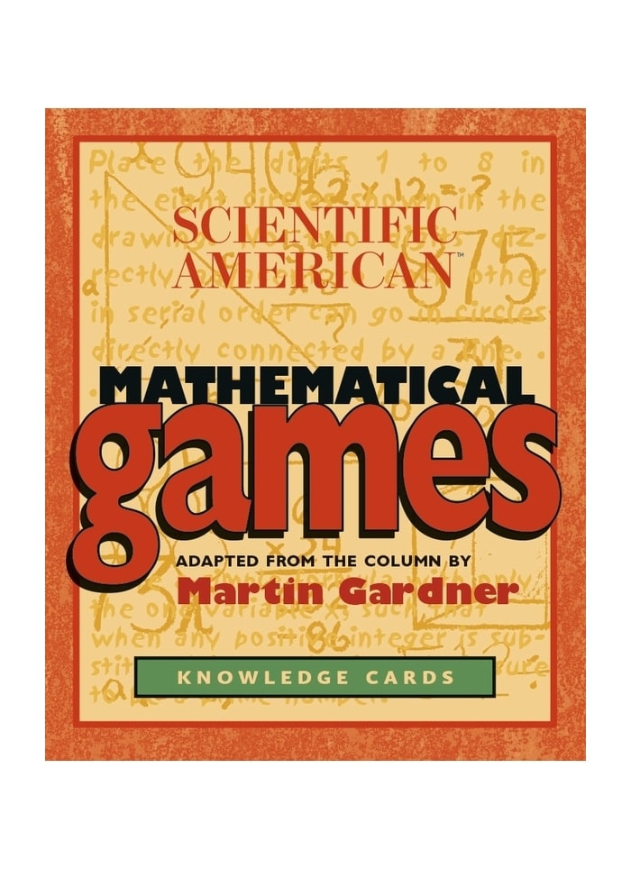 Scientific American Mathematical Games: Knowledge Cards (pack)