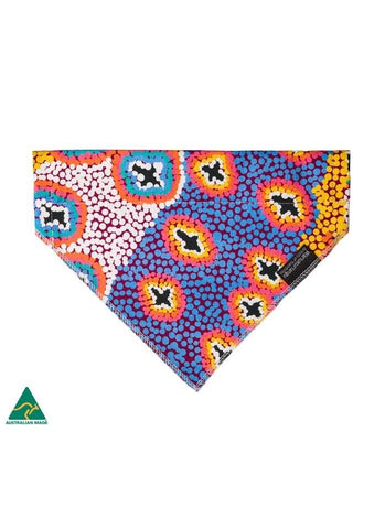 Aboriginal Art Pet Bandana - Ruth Stewart