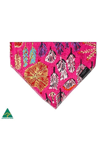 Aboriginal Art Pet Bandana - Betty Morton