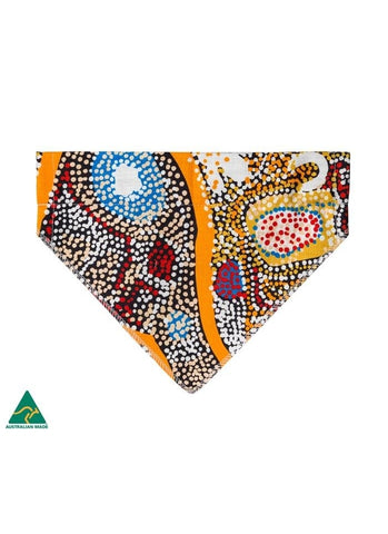 Aboriginal Art Pet Bandana - Elaine Lane