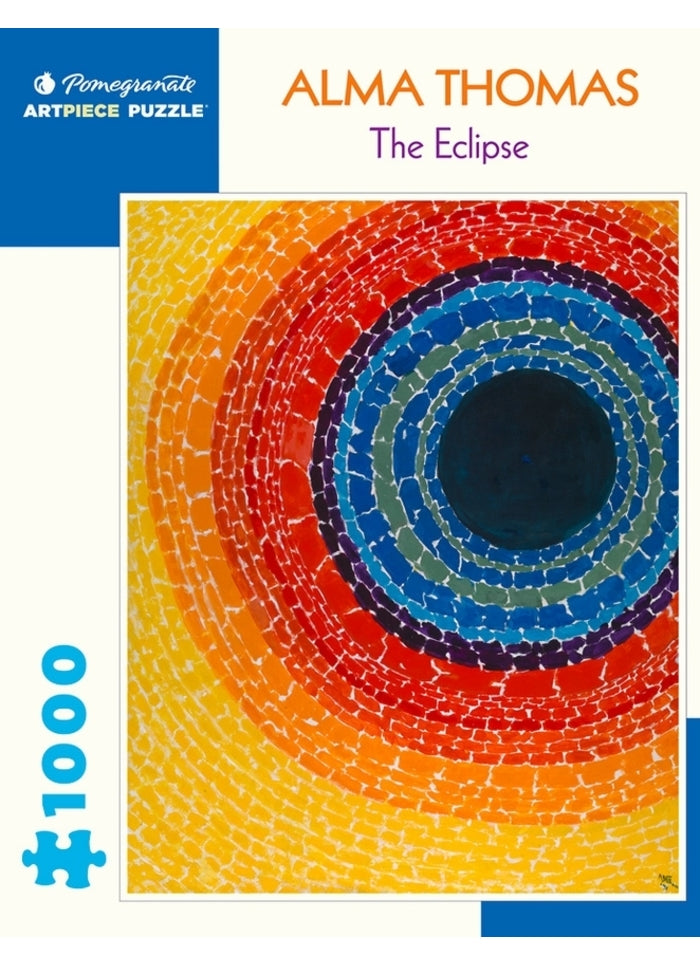 Alma Thomas: The Eclipse 1000 Piece Puzzle