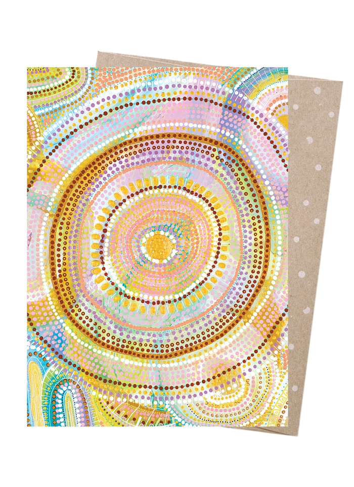 Natalie Jade art card - Cosmic Consciousness