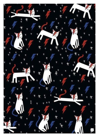 Niaski Wrapping Paper - Kitty Stardust