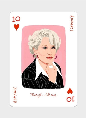 Genius Movies Playing Cards  (pack)