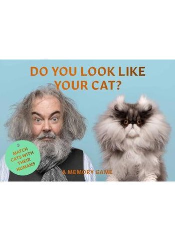 Do You Look Like Your Cat? (memory game)