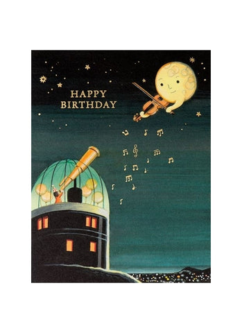 Foil Card - Observatory Birthday