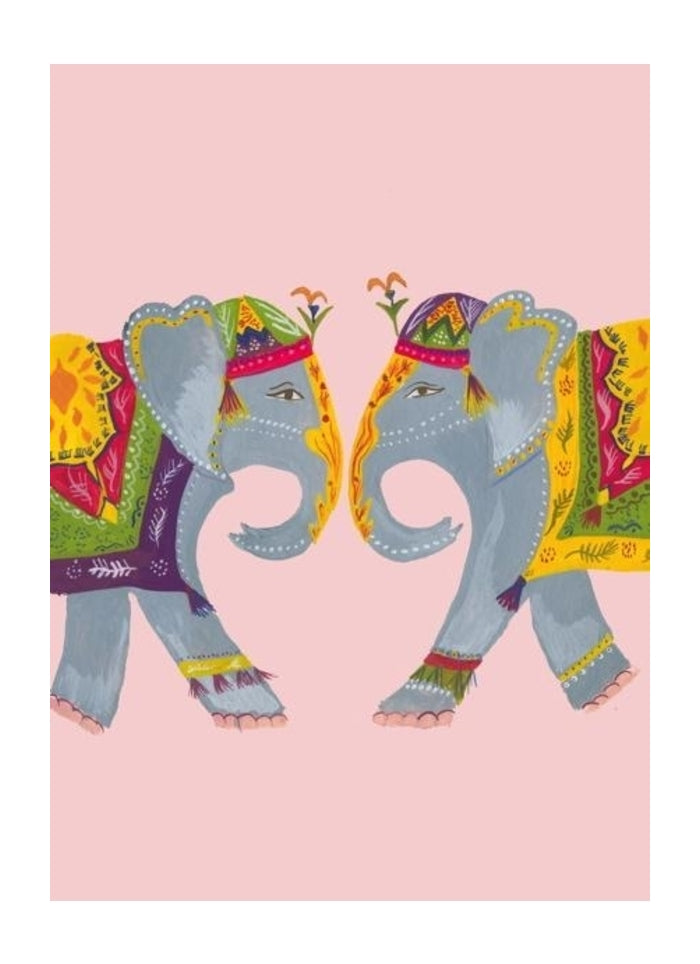 Hutch Cassidy greeting card - Elephant Heart