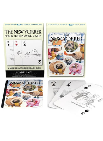 New Yorker Playing Cards - Dog Cartoons