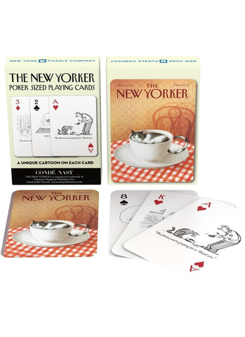 New Yorker Playing Cards - Cat Cartoons