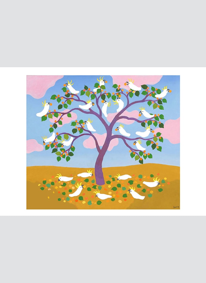 Leunig art card - Apricot Harvest