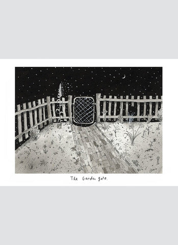 Leunig art card - The Garden Gate