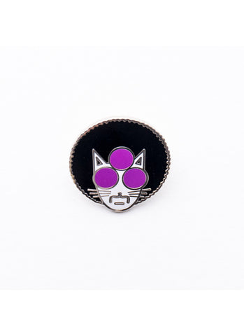 Purrince Enamel Pin
