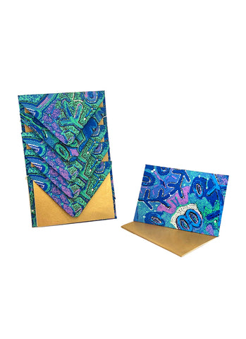 Better World Arts Handmade Envelope & Gift Card Pack - Theo Hudson